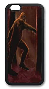Big Foot TPU Case Cover for iphone 6 and iphone 6 plus 5.5 inch Black