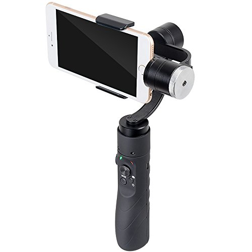 V3 Portable 3-Axis Gimbal Stabilizer for 3.5~6.1 Inches Cellphone - Black by OLSUS (Image #1)