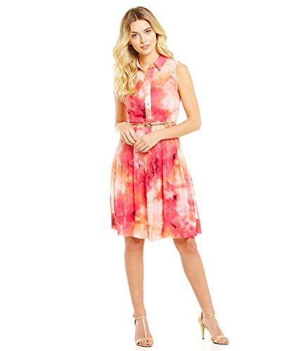 calvin klein hibiscus dress - 7