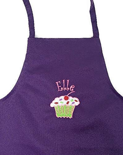 Personalized Child Apron Embroidered With Name and -