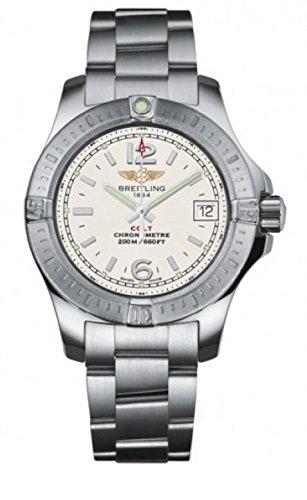 Breitling Women's A7738811/G793 Colt Analog Display Quartz Silver Watch