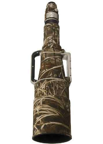LensCoat Lens Cover for Canon 1200mm 5.6 Camouflage Neoprene Camera Lens Protection Sleeve (Realtree Max4 HD) lenscoat by LENSCOAT