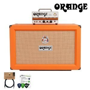 Orange Tiny Terror (TT15H) & PPC212 Cabinet Includes: 10ft Cable & Pick Sampler by Orange