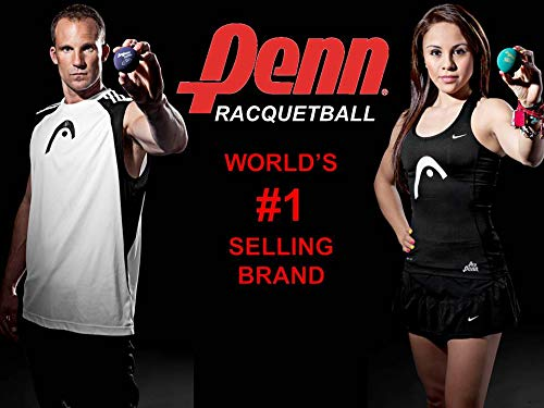 Penn Pro Penn (Green) Racquetball Can, 3 Balls by Penn (Image #1)