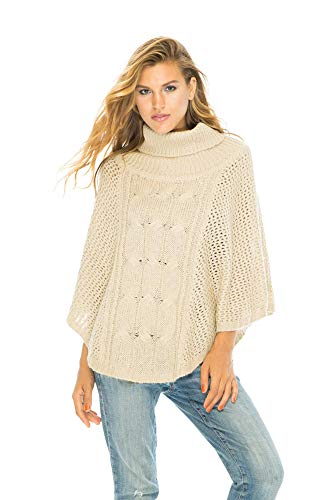 Poncho Amour Natural