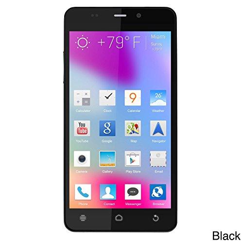 Whitecherry MI3 5.0 Android 6.0 1.3 Dual Core High Performance 3G Dual SIM Smart Phone- Black Colour
