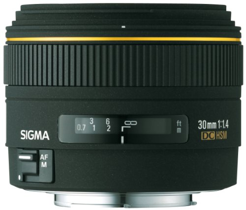 Sigma 30mm f/1.4 EX DC Lens for Minolta and Sony Digital SLR Cameras by Sigma