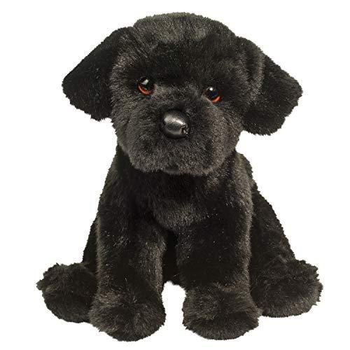Douglas Plush Whittaker Black Lab Stuffed Animal ()