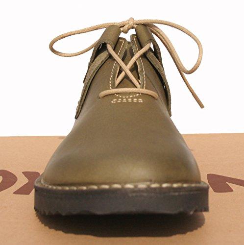 De Mujer Con Planos Cuero Zapatos Oxygen Cordones xpqP86qw
