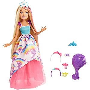 Barbie Dreamtopia Doll (17-inch), Multi...