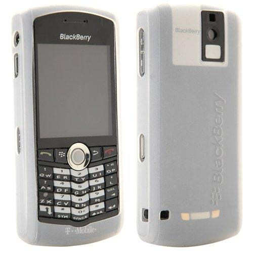 OEM BlackBerry Pearl 8100 8100c Silicone Gel Skin Case - White