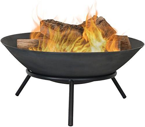 Sunnydaze Cast Iron Fire Pit Bowl