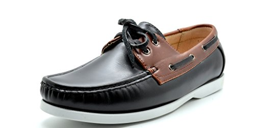 SUNSEEKER Loafers Two Eye Contrasting Leather