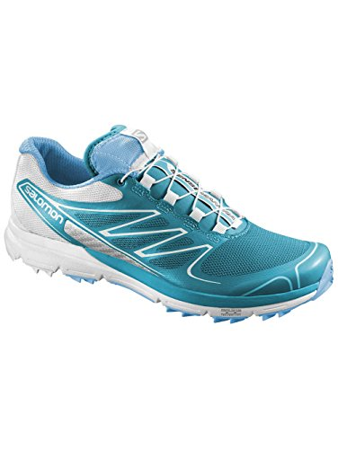 Salomon - Zapatillas de running para hombre Boss Blue / White / Silver