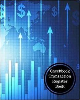 checkbook transaction register book check register insignia