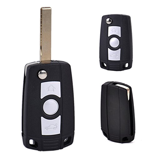 Remote Fob Key Shell Case Timelogo Replacement Folding