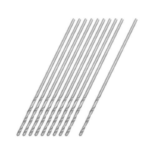 - eDealMax 0.75mm Dia Micro HSS Straight Shank Twist Drill Bit 10 Pcs