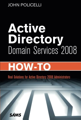 Active Directory Domain Services 2008 How-To