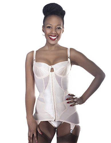 What Katie Did Corselette Firm Control Vintage Glamour (Glamour Vintage Panties)