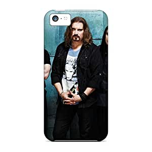 Perfect Hard Phone Cases For Iphone 5c With Unique Design High-definition Dream Theater Band Series MansourMurray