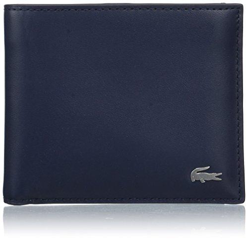 Lacoste NH1113FG, Porte-Monnaie Homme, Peacoat, 9.5 x 3.5 x 11 cm