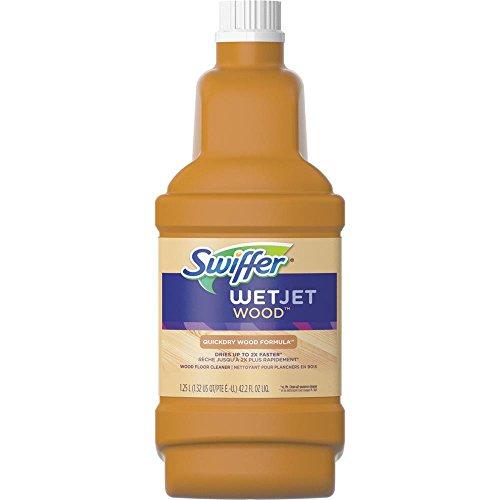- Swiffer Wetjet Wood Solution Wood 1.25 L/1.32 US QT/PTE E.-U/42.2 FL OZ, Blossom Breeze Scent