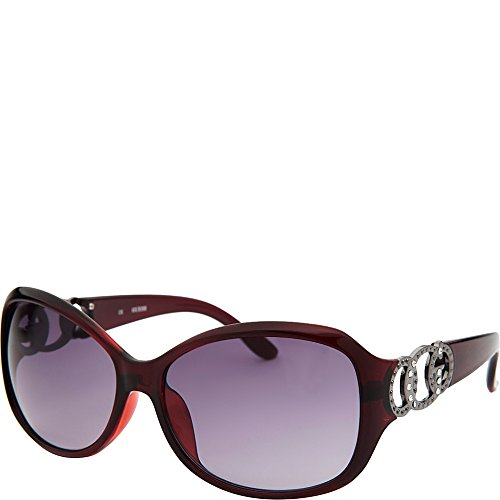 GUESS Eyewear Womens Butterfly Sunglasses