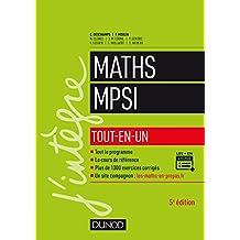Mathématiques MPSI : Tout-en-un (Concours Ecoles d'ingénieurs) (French Edition)