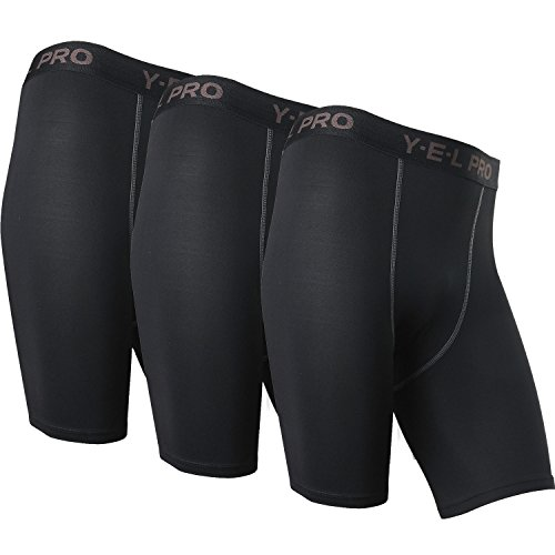 Neleus-Mens-Performance-Compression-Shorts-3-Pack