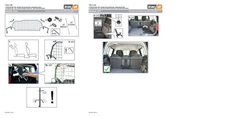 Travall Guard TDG1248 - Vehicle-Specific Dog Guard 7