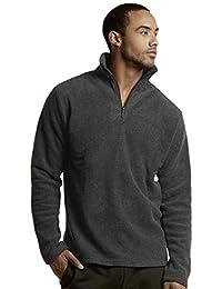 Men's Polar Fleece Quarter Zip Pullover