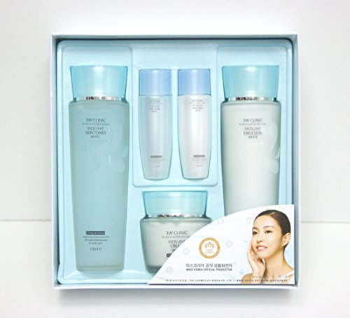 3W Clinic Excellent White Skin Care Set Korean Cosmetics - 1