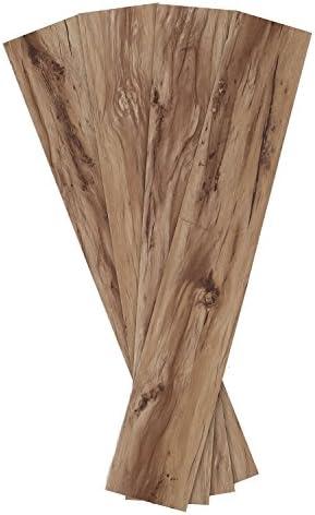 モダンデコ ウッドカーペット フロアタイル 置くだけ 1畳 (ヴィンテージウッドメープル)