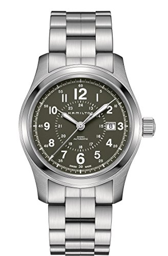 Hamilton-H70605163-Silver-42mm-Stainless-Steel-Khaki-Field-Auto-42mm-Mens-Watch