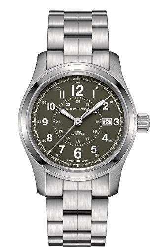 Hamilton-H70605163-Silver-42mm-Stainless-Steel-Khaki-Field-Auto-42mm-Mens-Watch