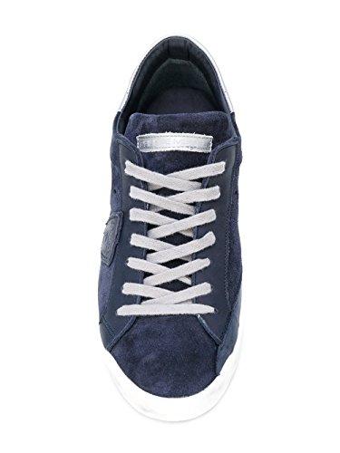 Blu Camoscio Uomo Sneakers Philippe Model Clluxb03 H8nXxIfwPq