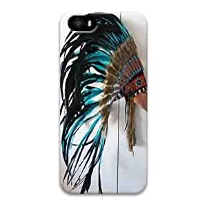 Iphone 5s Case,Hard PC Iphone 5s Protective Case for Ultimate Protect iphone 5s with Indian decoration