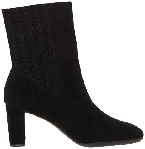 Aerosoles Calf Women's Fifth Ave Boot Mid Suede Black rBTqrnR
