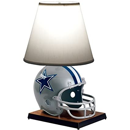 Amazon Com Nfl Dallas Cowboys Helmet Lamp Table Lamps Sports