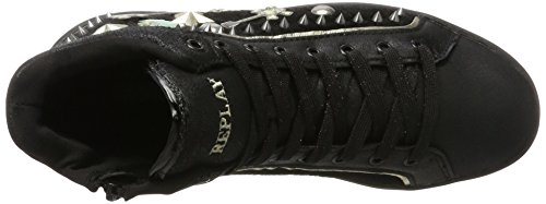 Black Penly Femme Baskets Hautes Noir REPLAY TRfwXHqWX