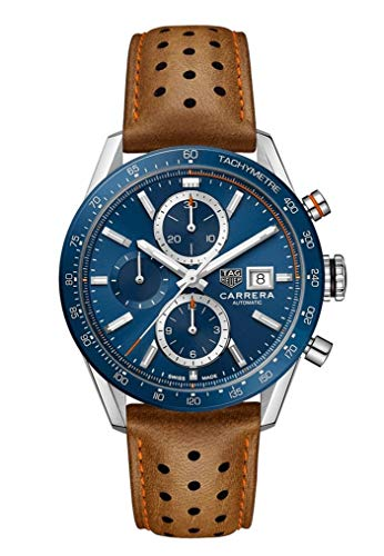 Tag Heuer Carrera Calibre 16 Chronograph 41mm Watch (Tag Heuer Carrera Monaco Grand Prix Price)
