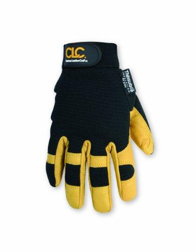 CLC Custom Leathercraft 2061XL Top Grain Goatskin Insulated Gloves, XL (Gloves Work Winter Clc)