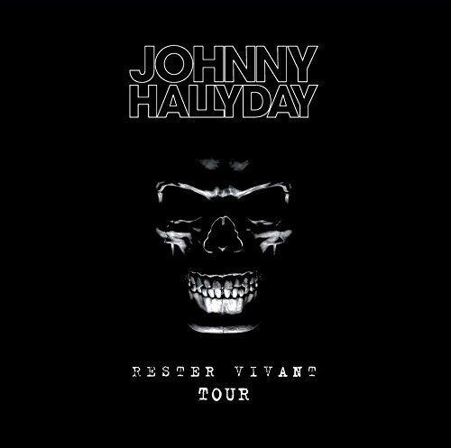 Blu-ray : Johnny Hallyday - Rester Vivant Tour (France - Import)