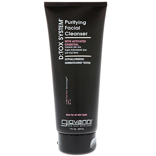 Tox System Acai Berry - Giovanni D:tox System Purifying Facial Cleanser, 7 Fluid Ounce