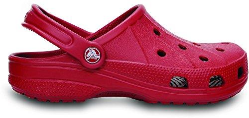 Crocs Ralen Clog, Zuecos Unisex Adulto, Azul Marino Rosso (True Red)