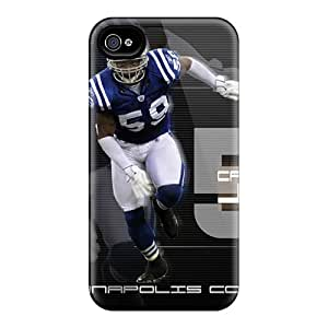 Top Quality Rugged Indianapolis Colts Case Cover For Iphone 4/4s