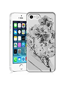 Fashionable Humorously Devised Papercut Portrait Durable Hard Plastic Case Cover For iPhone 5S
