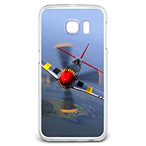 World War 2 II Fighter Plane Aircraft Snap On Hard Protective Case for Samsung Galaxy S6 Edge