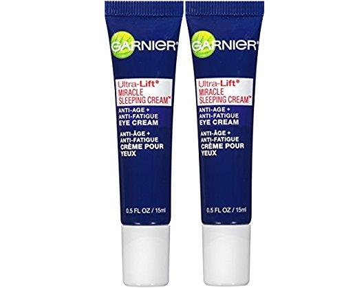 Garnier Ultra-Lift Miracle Sleeping Cream Anti-Age + Anti-Fatigue Eye Cream 0.50 oz (2 - ()