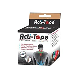 Acti-Tape Beige 1 Roll, 2.60 Ounces
